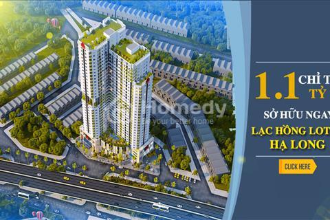 Chỉ 220 triệu đợt 1 - sở hữu căn hộ tiện nghi trung tâm Hạ Long