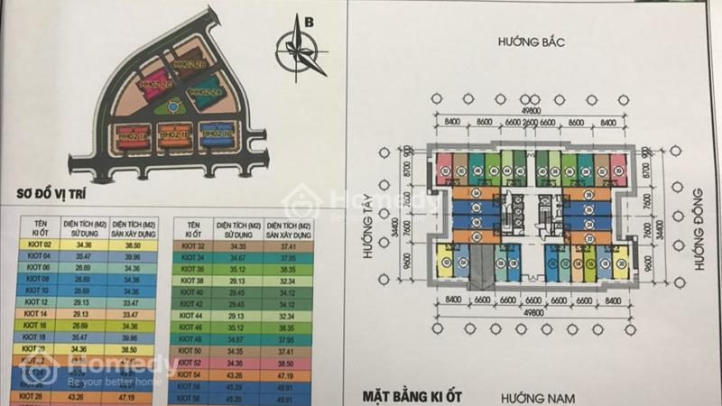 Kiot Kinh doanh tại chung cư Thanh Hà-Mường Thanh,giá chênh thấp nhất thị trường - 5