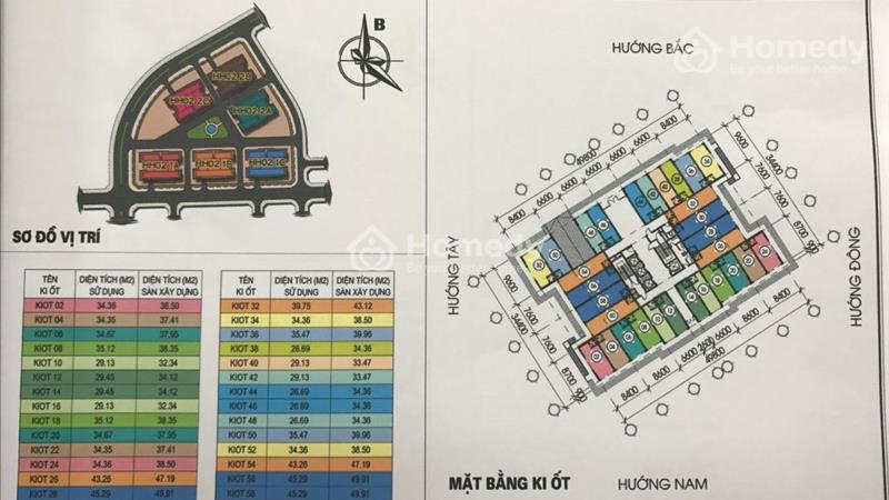 Kiot Kinh doanh tại chung cư Thanh Hà-Mường Thanh,giá chênh thấp nhất thị trường - 8