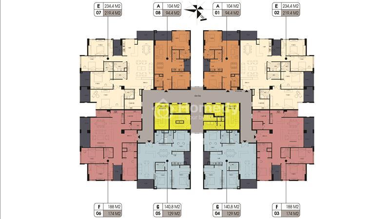 Đặt chỗ tầng đẹp:5,9,11,14_Northern Diamond - ngay Aeon Mall với CĐT Incomex, chỉ từ 25 triệu/ m2 - 8