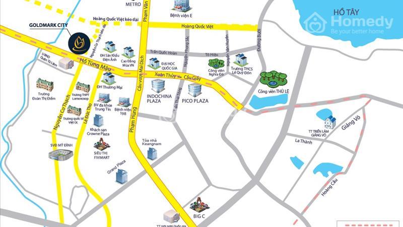 Căn hộ cao cấp Goldmark city -chỉ với 24tr/m2-nhận ưu đãi miễn phí 10 năm dịch vụ - 2