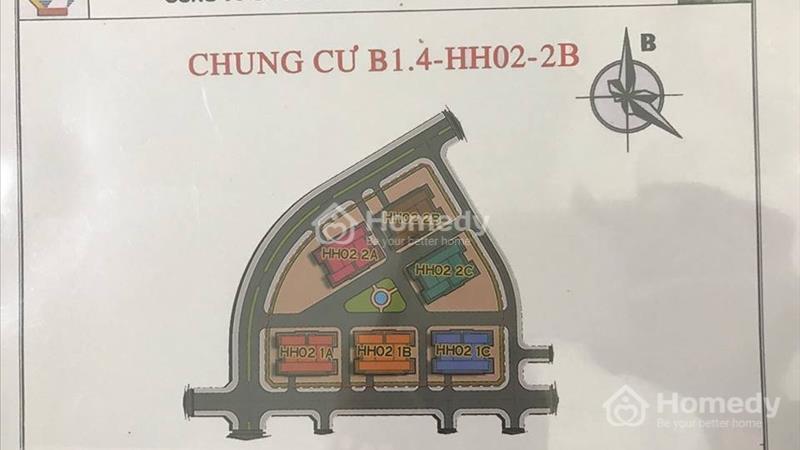 Căn hộ view hồ, giá chỉ từ 10,5 triệu/m2 tại chung cư Thanh Hà Cienco 5  - 1