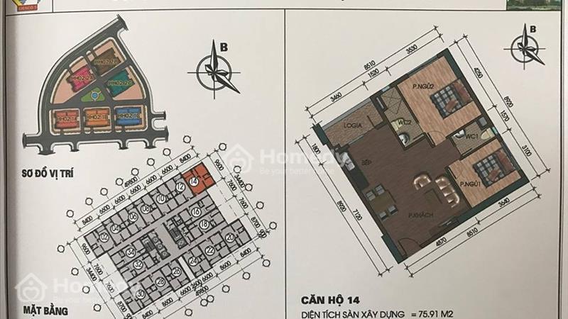 Căn hộ view hồ, giá chỉ từ 10,5 triệu/m2 tại chung cư Thanh Hà Cienco 5  - 2