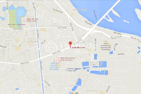 Bán suất ngoại giao chung cư 536A Minh Khai - Vĩnh Tuy. Giá ưu đãi hấp dẫn.