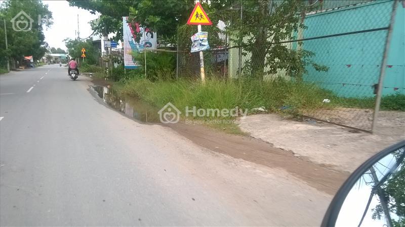 Bán đất mặt tiền đường Tân Liễu, Qui Đức, Bình chánh - 1