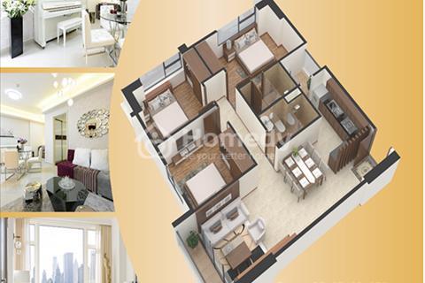 Căn hộ chung cư Gemek Premium diện tích 89,2 m2, 3 phòng ngủ