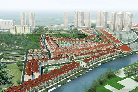 Bán chung cư làng Việt Kiều Châu Âu diện tích 161 m2, 4 phòng ngủ. Giá 22 triệu/ m2