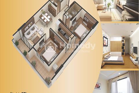 Căn hộ chung cư Gemek Premium diện tích thông thủy  75,4 m2, 2 phòng ngủ