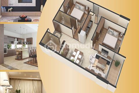 Căn hộ chung cư Gemek Premium diện tích 65,8 m2 - 2 phòng ngủ, ban công Đông Nam