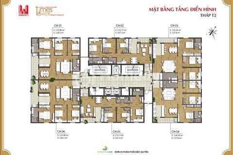 Chung cư Times tower nhận nhà ở luôn, vị trí đắc địa - full nội thất. Giá 32 triệu/ m2