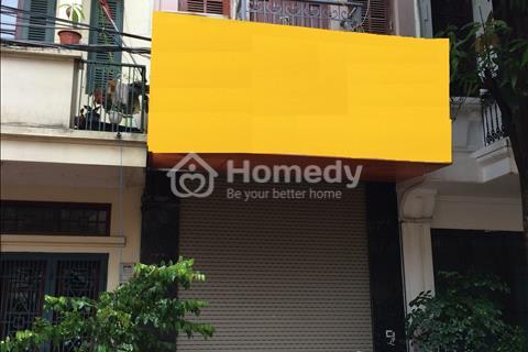 Cho thuê nhà 80 m2 x 9 tầng trong ngõ Trần Duy Hưng