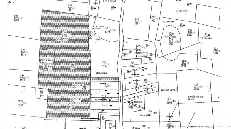 Bán đất thổ vườn xã Tân Mỹ, huyện Đức Hòa, Long An - 3