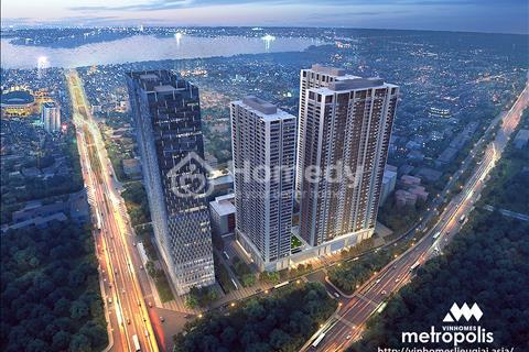 Từ 1,2 tỷ đầu tư căn hộ Metropolis Liễu Giai, nhận cam kết thuê 10%/năm hoặc nhận 1 lần 10% giá trị
