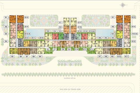 Sang nhượng căn hộ Saigon Mia tặng sân vườn giá 2,291 tỷ