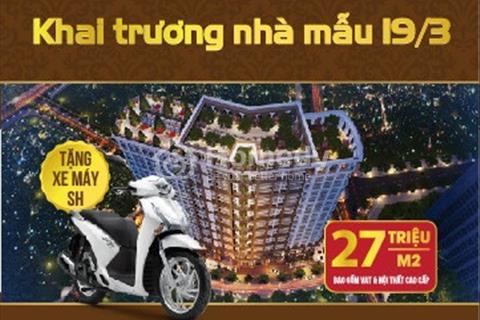 Cơ hội vàng sở hữu căn hộ Sunshine Palace giá chỉ 25tr/m2, Ful nội thất-ck tới 12%-Free 5 năm dv