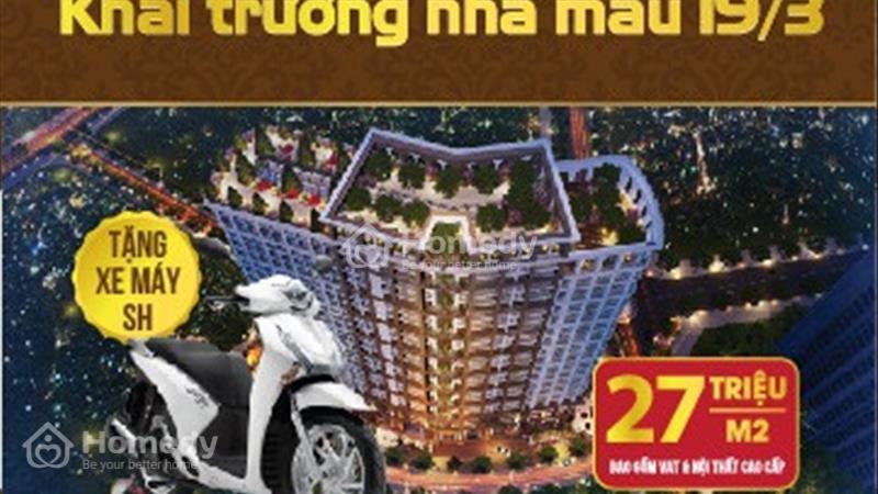 Cơ hội vàng sở hữu căn hộ Sunshine Palace giá chỉ 25tr/m2, Ful nội thất-ck tới 12%-Free 5 năm dv - 1
