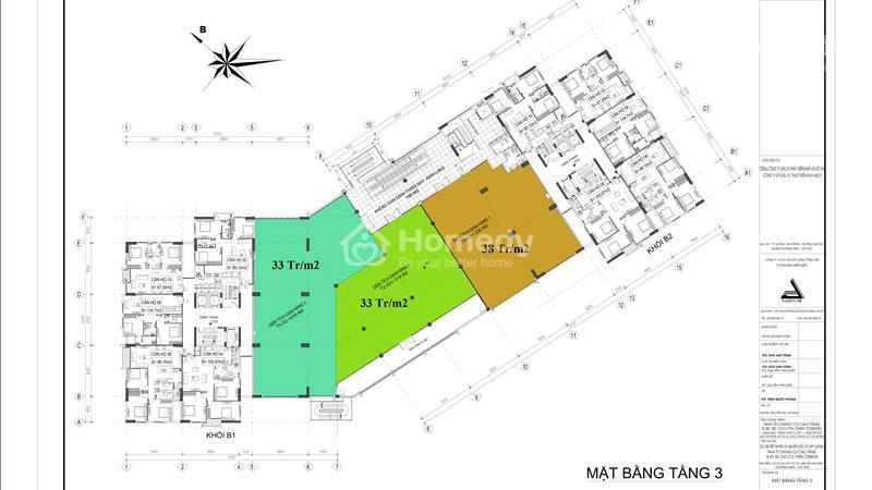Bán mặt bằng trung tâm thương mại diện tích từ 200 m2 đến 1000 m2. - 2