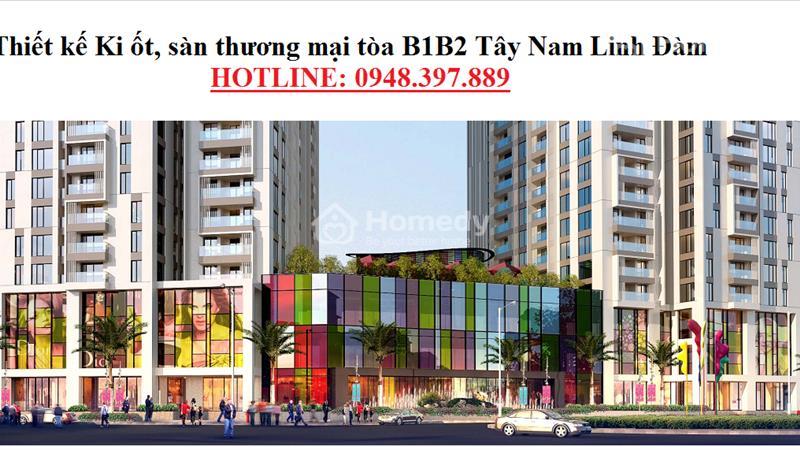 Bán mặt bằng trung tâm thương mại diện tích từ 200 m2 đến 1000 m2. - 1