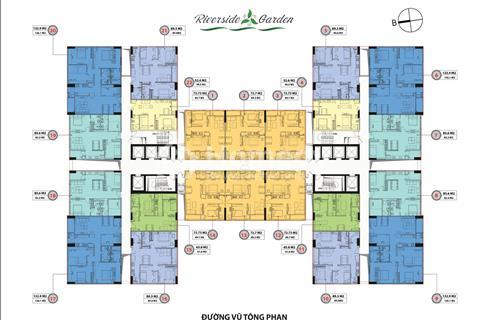 Chính chủ bán lại căn hộ 85 m2 dự án 349 Vũ Tông Phan