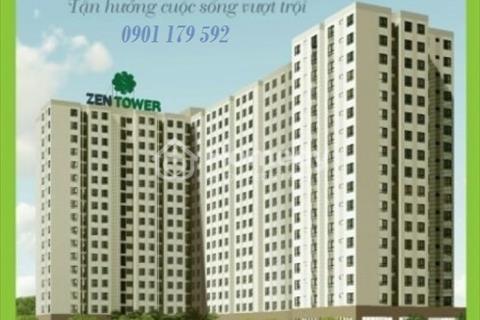 Nhà ở xã hội Zen Tower. Đối diện ủy ban nhân dân quận 12. Duy nhất giá bán chỉ 15 triệu/m2