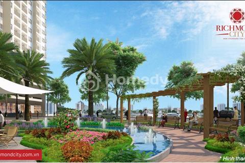 Căn hộ quận Bình Thạnh giá rẻ, diện tích 68 m2, 2 phòng ngủ, 2 wc, thanh toán 500 triệu