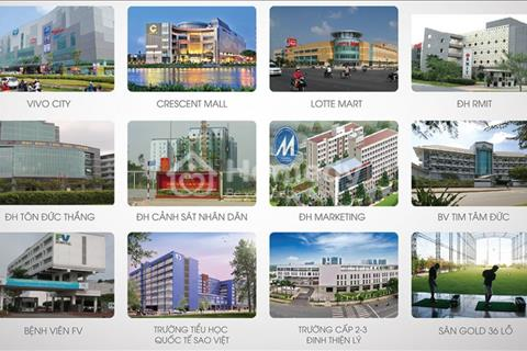 Bán căn hộ cao cấp Golden Land, mặt tiền Nguyễn Tất Thành, Quận 7