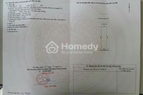 bán đất khu tái định cư Trà Khê 3 phường Hòa hải Quận Ngũ Hành Sơn