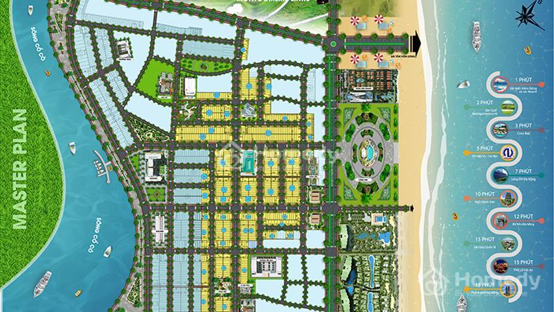 Đất nền dự án trung Tâm Thương Mại Du Lịch Biển Dương Ngọc - 2