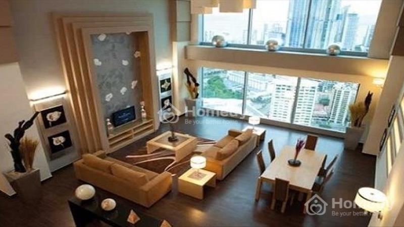 Duplex The Vista bán 5 phòng ngủ 380 m2 view hổ bơi full nội thất - 1