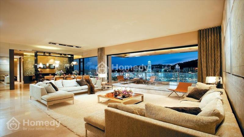 Biệt thự trên không -3 mặt giáp sông.có sân vườn và hồ bơi ngay căn hộ.view 360 toàn diện thành phố - 4