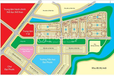 Cần bán 1 lô A1 hướng Tây, dự án Đại Phước Center city. Giá rẻ, bao sổ.