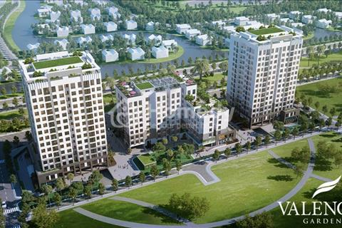Bán căn góc 80 m2 , 3 phòng ngủ chung cư Valencia Graden CT19 Việt Hưng