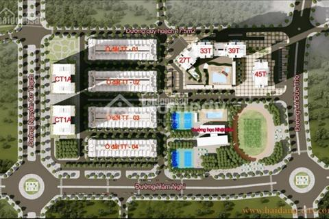Bán cắt lỗ lại hai ô liền kề HD Min City, Mỹ Đình, 83m2 TT02 và 120m2 TT03 giá chỉ 100 triệu/m2