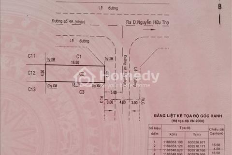 Chú Tuấn - bán 2 lô cặp góc nội khu Him Lam, Tân Hưng, Q7, đường 5a và 4a giao nhau