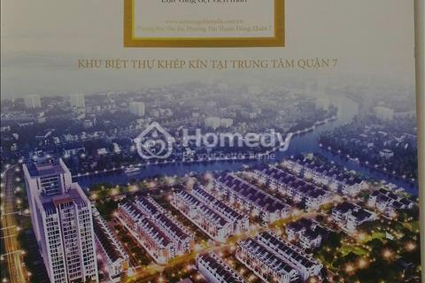Nhà phố liên kế Q7 - Ven Sông - TT 35% Sổ Trao Tay