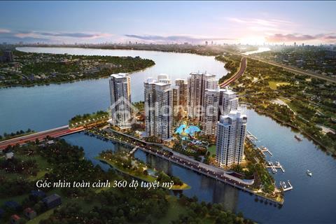 Căn 02PN – 88,75m2, view sông Sài Gòn, bến du thuyền, sông SG, CK 5%