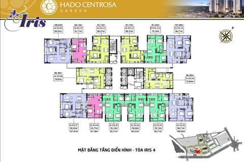 HaDo Centrosa Garden - Ưu đãi khủng duy nhất ngày 25/3 - Mở bán Iris 4 - Block đẹp nhất dự án