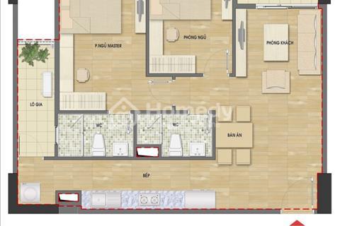 Bán căn hộ chung cư 60 Nguyễn Đức Cảnh, căn 72 m2