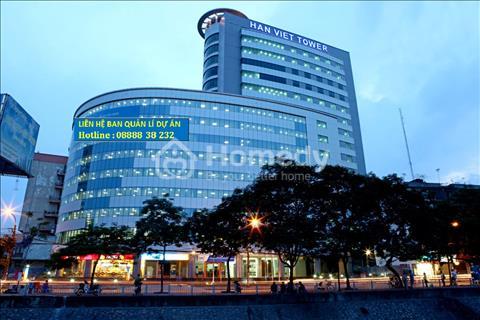 Cho thuê văn phòng tòa nhà Hàn Việt Tower 203 phố Minh Khai giá 295 nghìn/m chưa VAT