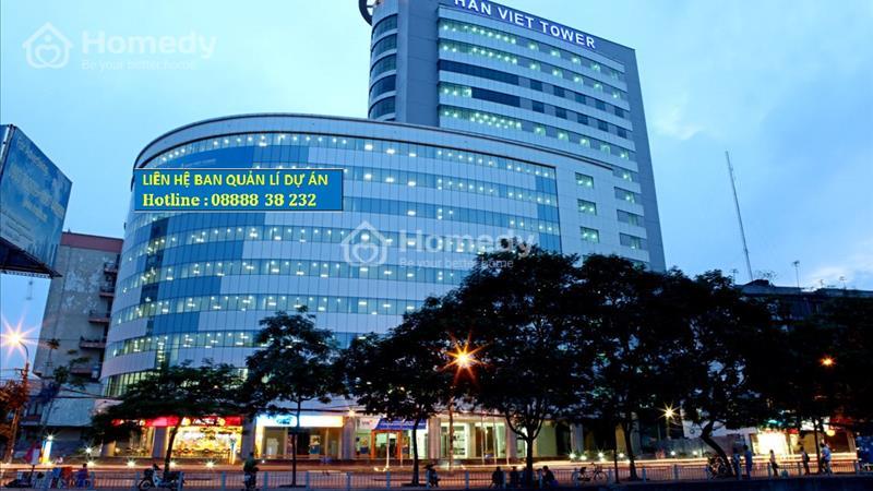 Cho thuê văn phòng tòa nhà Hàn Việt Tower 203 phố Minh Khai giá 295 nghìn/m chưa VAT - 1