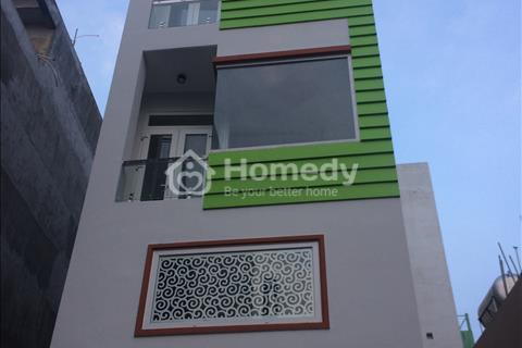 Nhà 4x14 5 tầng Khu nội bộ cao cấp HXH Nguyễn Xí