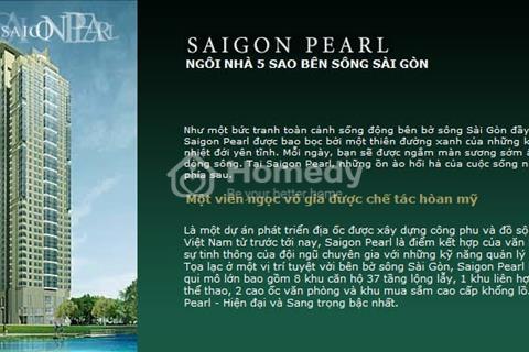 Bán căn hộ 2pn dự án Sài Gòn Pearl view Q1 tầng cao tòa Topaz 2 giá 4,5 tỷ