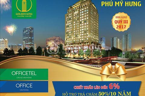 Officetel Golden King quận 7 - giá chỉ từ 1,3 tỷ/căn