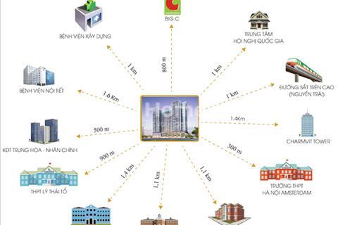 Cập nhật các suất ngoại giao chung cư The Legend 109 Nguyễn Tuân rẻ hơn chủ đầu tư, full nội thất