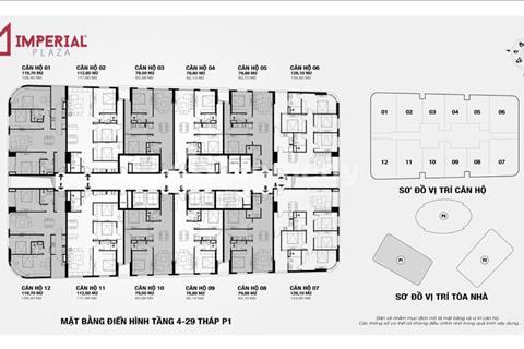 Chính chủ cần bán cắt lỗ căn 11 360 Giải Phóng, giá 24 triệu/m2, liên hệ anh Tuấn