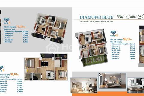 Bán suất ngoại giao chung cư Diamond Blue  69 Triều Khúc -Thanh Xuân