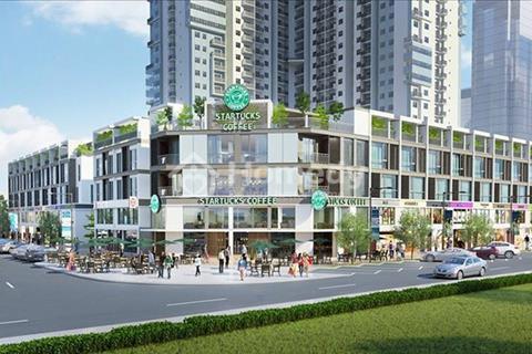 Bán nhà phố The Two Gamuda. Diện tích 75m2, hướng Tây Bắc. Giá hợp đồng 7,7 tỷ.