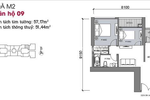 Đầu tư căn hộ 1 ngủ hưởng lợi nhuận căn 1,5 phòng ngủ Metropolis Liễu Giai