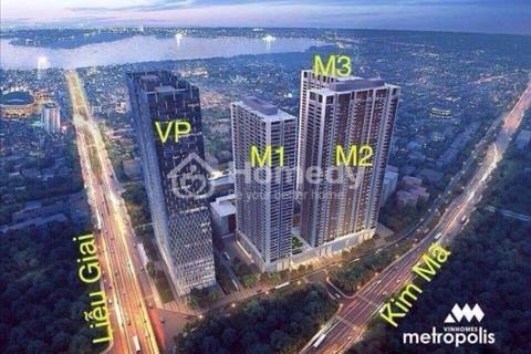 Sở hữu căn hộ Vinhomes Metropolis với chính sách ưu đãi tốt nhất