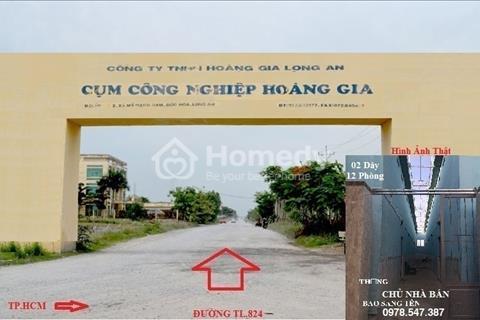 Cần bán gấp 2 dãy nhà trọ trong khu công nghiệp Hoàng Gia Xuyên Á